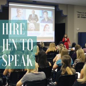 hire speaker jen devore