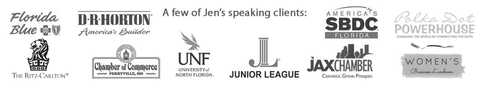 Jen DeVore Speaker Clients