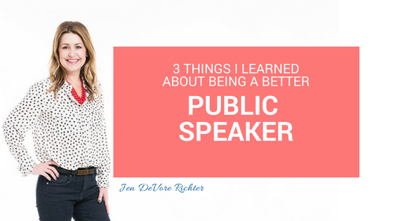 PUBLIC SPEAKER TIPS