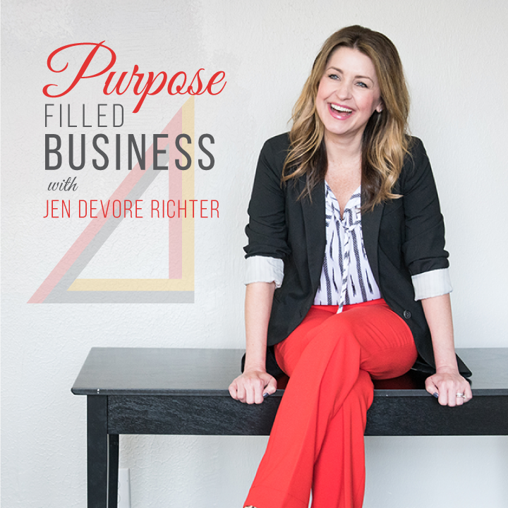 purpose filled business podcast