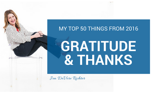 gratitude and thanks