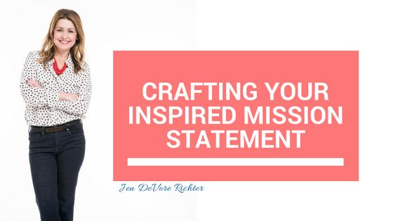 Inspired Mission Statement
