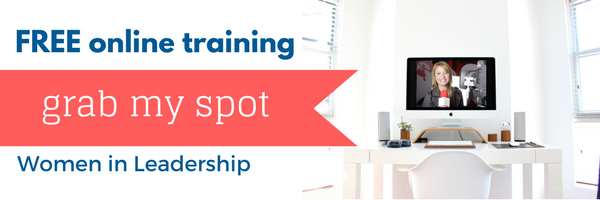 Free online training grab my spot women in leadership