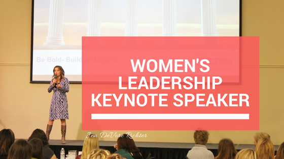 womens leadership keynote speaker