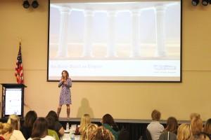 Women's leadership speaker Jen DeVore Ricter