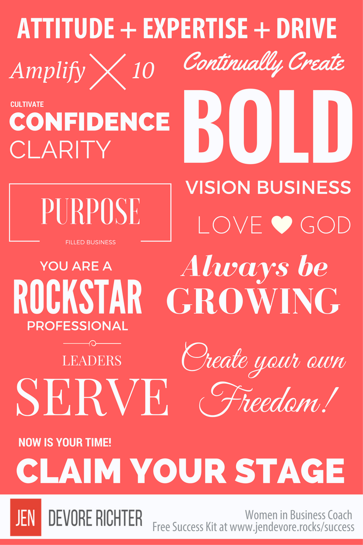 business coach success kit