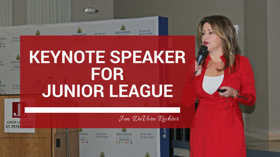 Junior League Keynote Speaker