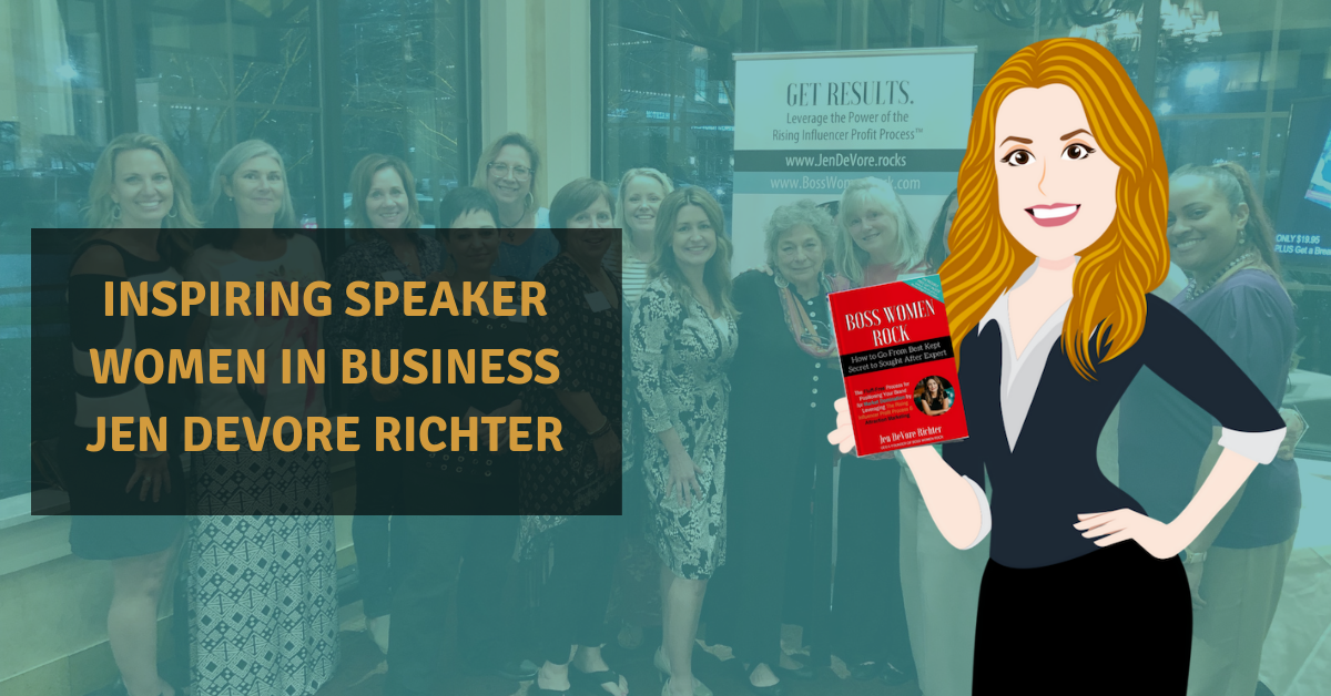 inspiring speaker women in business