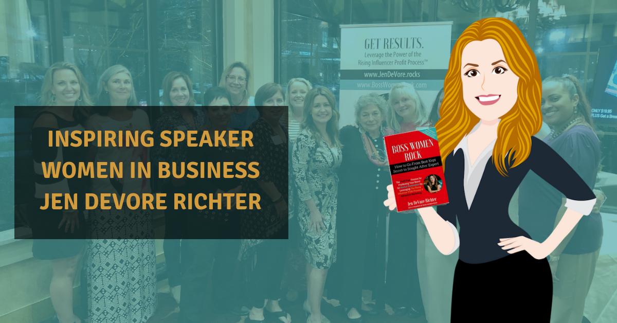 inspiring speaker women in business
