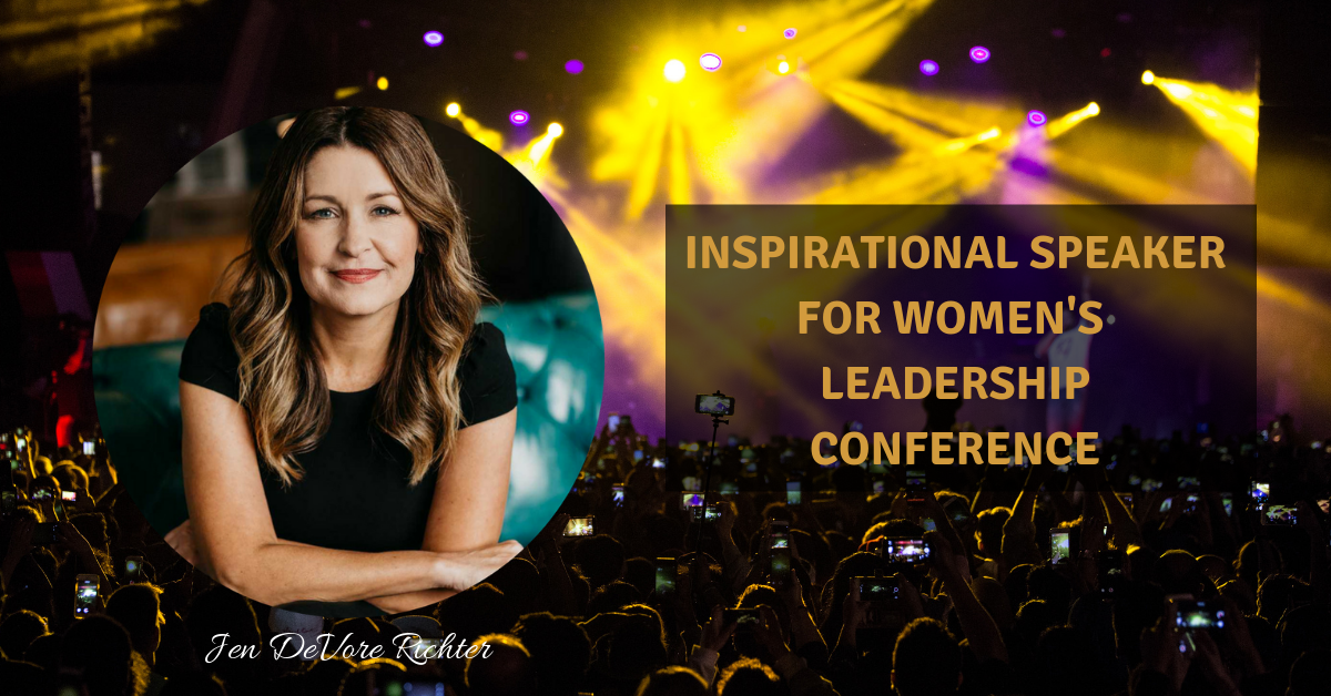 Inspirational Speaker for Women's Leadership Conference Jen DeVore