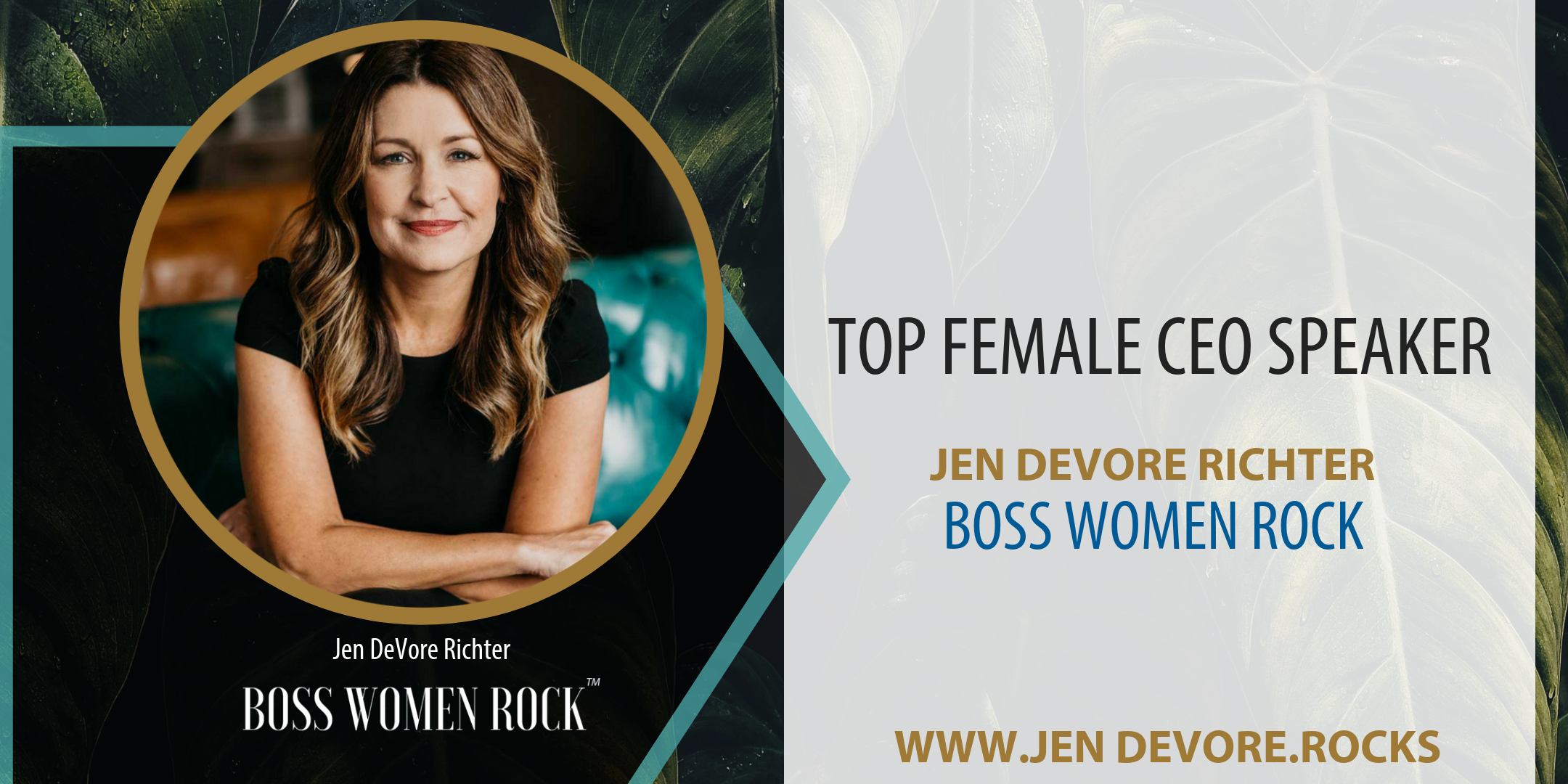 top female CEO speaker jen devore
