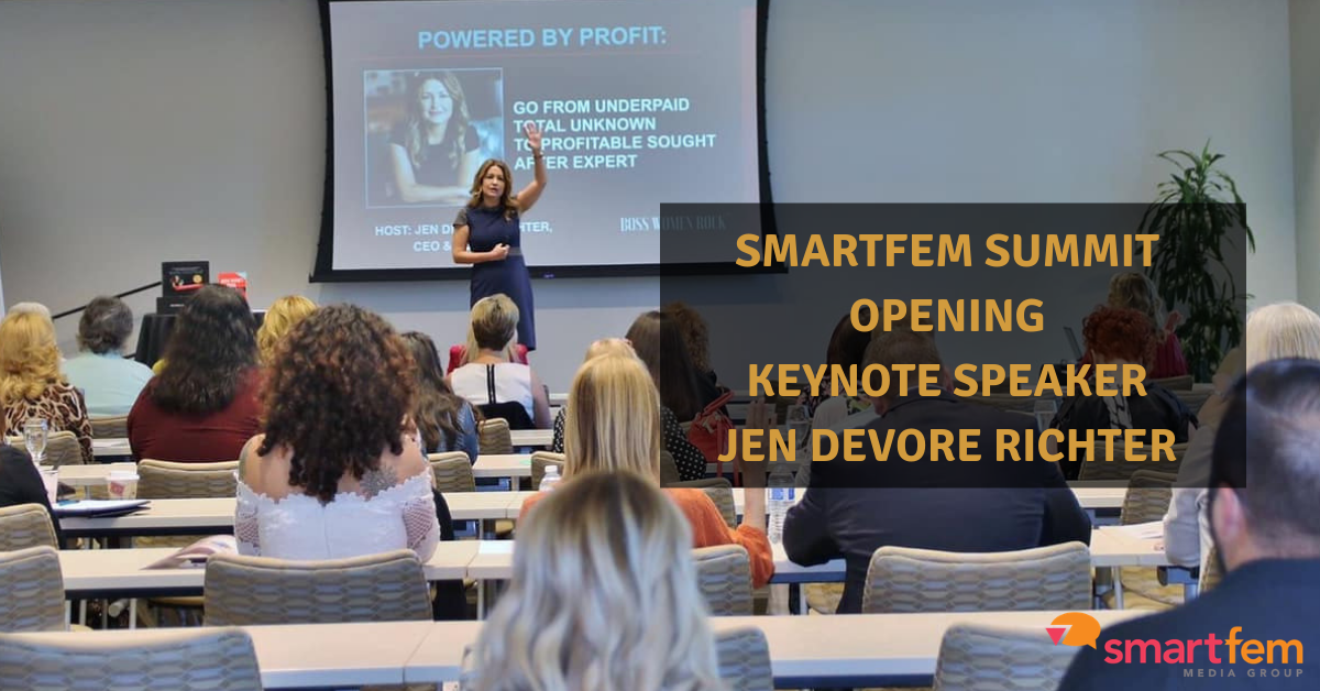 SmartFem Summit Opening Keynote Speaker