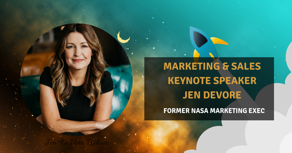 Marketing Keynote Speaker Jen DeVore NASA