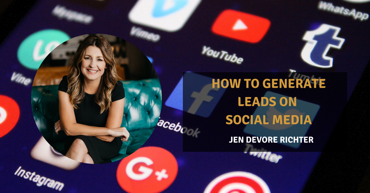 generate leads social media