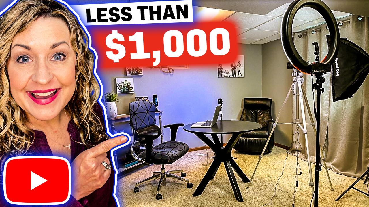YouTube Studio at Home Setup